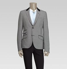I am dying to trim out a men's blazer!!