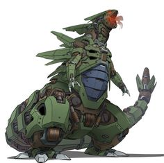 Mecha Tyranitar by on DeviantArt Pokemon Fusion Art, Pokemon Fan Art, Pokemon Tumblr, Mega Pokemon, Pokemon Memes, Pokemon Cards, Cosplay Pokemon, Robot Concept Art, Robot Art