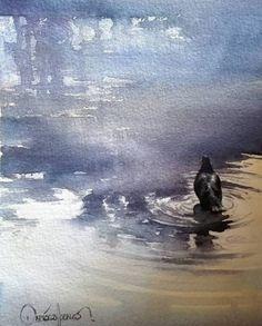 "the best watercolor on Instagram: ""Watercolor by Dario Percy Ccallo @darioccalloart #watercolor #aquarelle #art #paint #painting #workshop #gallery #watercolor#aquarelle#art…"""