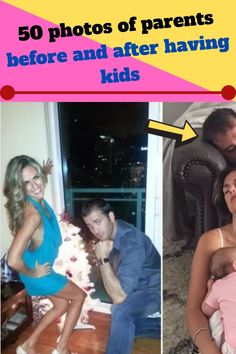 These 50 photos show how parents' lives drastically changed from when they were childless to now that they have one or more little ones under their care. If you are planning to have a child, this list can probably give you an idea of what lies ahead. So, enjoy!