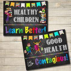 Health Room Office Posters School Health Posters Nurse