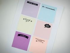Learn how printing on post-its will pretty much change your classroom life. Get our free Post-it templates for rubrics, observation notes, and more. Notes Template, Templates Printable Free, Printables, Filofax, Teacher Calendar, Teaching Portfolio, Teaching Quotes, Teaching Ideas, We Are Teachers