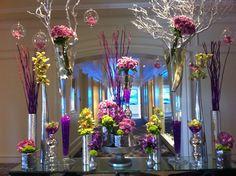 "Flower ""arrangement"" in the Ritz-Carlton hotel lobby - Laguna, CA."