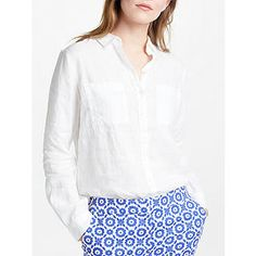 Buy Delave Boden Linen Shirt from our Women's Shirts & Tops range at John Lewis & Partners. Wardrobe Staples, Pure Products, Stuff To Buy, Clothes, Thailand, Collection, Shirt, Tops, Fashion