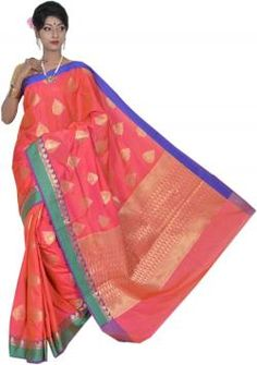 #banarasi weaves point silk and cotton #saree #manufacturers in #varanasi. Absolute #fashion
