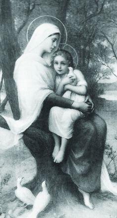 SANTA ANA CON EL TESORO DE SU CORAZÓN, SU PEQUEÑA MARÍA, LA ELEGIDA PARA SER MADRE DE DIOS