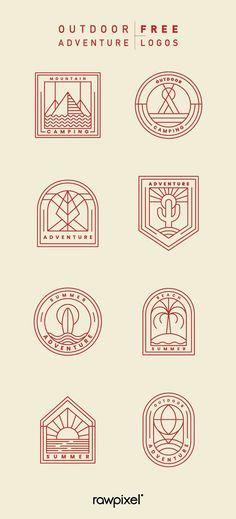 Photography logo adventure 50 Ideas for 2019 Outdoor Logos, Badge, Industry Logo, Photography Logos, Food Photography, Simple Nail Art Designs, Woodworking Logo, Postcard Design, Free Logo