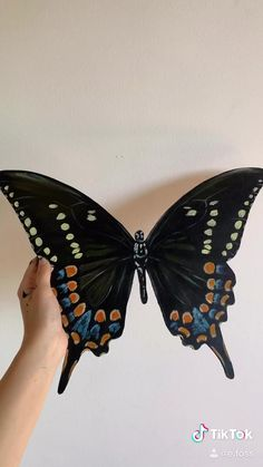 Butterfly Stencil, Butterfly Crafts, Butterfly Pattern, Butterfly Art, Creative Class, Butterfly Pictures, Flower Phone Wallpaper, Plastic Art, Mini Canvas Art