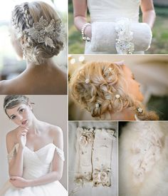 bridal accessories for winter wedding 2014