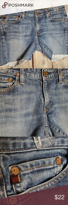 Adriano Goldschmied Shorts Cutoff Jean Denim Adriano Goldschmied Shorts Size 29 Women's Cutoff Blue Jean Denim The Club Gently used Cutoffs Cotton & lycra Approx waist 32, rise 8, inseam 5 Ag Adriano Goldschmied Shorts Jean Shorts