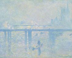 Claude Monet - El puente de Charing Cross (1899)