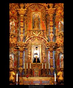 San Xavier Mission, Tucson, Saints