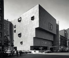 Whitney Museum of American Art, New York, N.Y., (1964-1966, with Hamilton P. Smith).© Photo Ezra Stoller - Esto. All rights reserved.