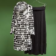 Take a look at the Black & White: Women & Plus-Size event on #zulily today!