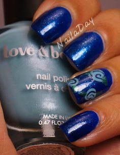 nails.quenalbertini: Revlon Mint Fizz & Flowers | NailaDay