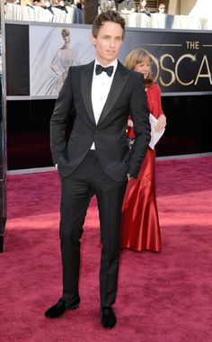Eddie Redmayne - Academy Awards 2013, one of my top two for best dressed men
