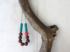 DIY Wooden Bead Necklace | Real Purdy