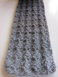 #Crochet scarf.