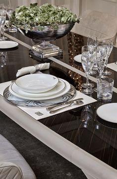 Bradley' dining table for Bentley Home, September 2014