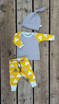 Mod Triangle Coming Home Outfit 3-Piece Outfit by brambleandbough