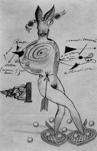 Desnudo - (Joan Miro) abstrato, desnudos