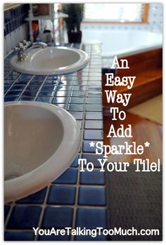 Quick and Easy way to make ceramic tile and hardwood sparkle!