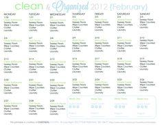 CLEAN MAMA: Clean + Organized 2012 - February