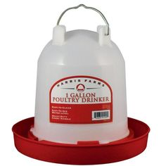 Harris Farms Poultry Drinker, 1 gal. Capacity - Tractor Supply Online Store $6.99