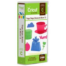 Tags, Bags, Boxes, and More Cricut Cartridge