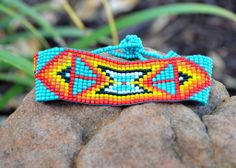 Turquoise Beaded Bracelet from The Charming Arrow Boutique
