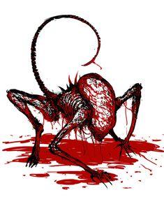 XIBALBA Alien Film, Saga Art, Alien Covenant, Predator Alien, Alien Tattoo, Hr Giger, Alien Concept Art, Dark Places, Monster Art