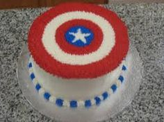 captain america birthday cakes - Google Search