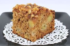 **Sourdough Apple Cinnamon Coffee Cake-100% whole wheat, coconut oil/butter, honey...topped with Rapadura,oats, butter...SO GOOD!!! And easy...mixed it at night, stuck it in the fridge...popped into the oven in the morning...yum!
