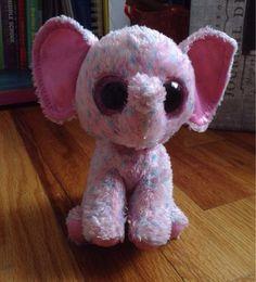 Mini Sized Beanie Boo Ellie the Elephant