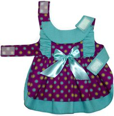 Baby Doll Dog Dress Pattern 1603 XXSmall & by SofiandFriends