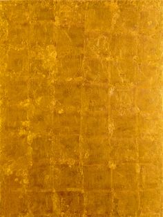 Yves Klein - Valeur  (MG 23) (1960) Gold leaf on plywood