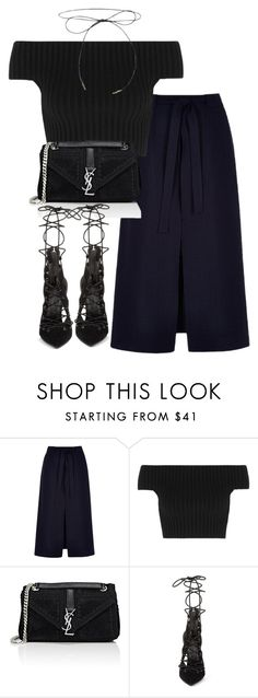 """""""Untitled #2510"""" by theeuropeancloset ❤ liked on Polyvore featuring River Island, Michael Kors, Yves Saint Laurent and Kendall + Kylie"""