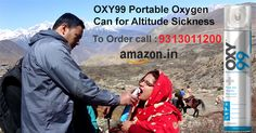 OXY 99 Portable Oxygen CAN for High Altitude; Amarnath, Vaishno Devi, Leh-Ladakh, Mountain Tour, Bikers, Hill Journey- Always Carry OXY99 - For - Heart, Breathing Problem due to low oxygen level in Altitude Yatra. ORDER Today at Amazon.in @ Rs. 650/CAN!! WEBSITE:- www.oxy99.in
