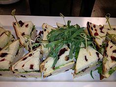 Want! Turkey, Havarti Cheese, Tarragon Mayo on Cranberry Orange bread.