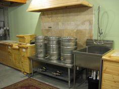 indoor electric herms brew setup