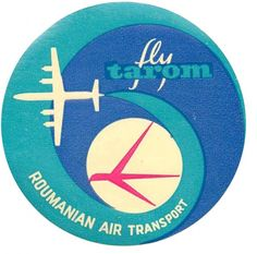 From Present & Correct: Flights of fancy. Collection of old airline labels.
