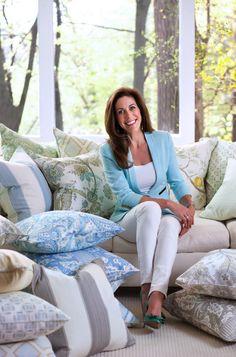 Sneak Peek: Sarah Richardson's First Fabric Collection