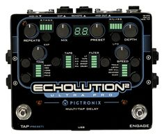 Pigtronix Echolution 2 Ultra Pro, State-of-the-Art Analog & Digital Delay