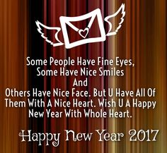 New year love messages 2017
