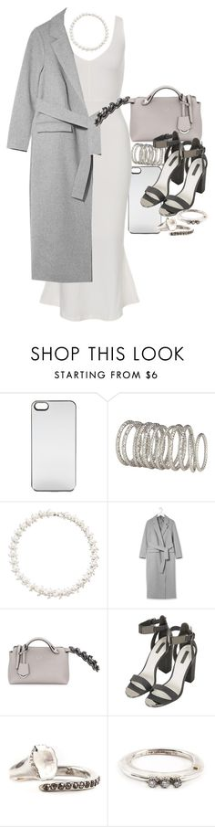"""""""Untitled #11093"""" by minimalmanhattan ❤ liked on Polyvore featuring Zero Gravity, H&M, Fallon, Topshop, Fendi and Rosa Maria"""