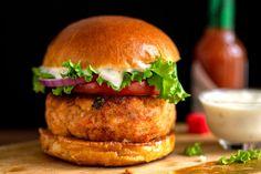Recipe: Salmon Burgers by Mark Bittman | Photo: Andrew Scrivani for The New York Times