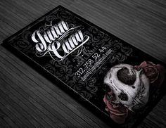 Tattoo Business Card on Behance