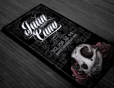 Tattoo Business Card on Behance