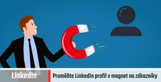 Jak proměnit LinkedIn profil v magnet na zákazníky supertipů) Magnets, Branding, Symbols, Letters, Law Of Attraction, Social Media, Ring Cake, Agriculture, Brand Management
