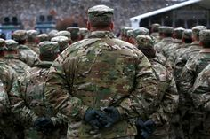 Photos of the day - January 14 2017U.S. army soldiers attend an...  Photos of the day - January 14 2017  U.S. army soldiers attend an official welcoming ceremony for U.S. troops deployed to Poland as part of NATO build-up in Eastern Europe in Zagan Poland; a Sadhu or a Hindu holy man carrying his pet monkey walks after taking a dip at the confluence of the river Ganges and the Bay of Bengal on the occasion of Makar Sankranti festival at Sagar Island south of Kolkata India; activists pray…